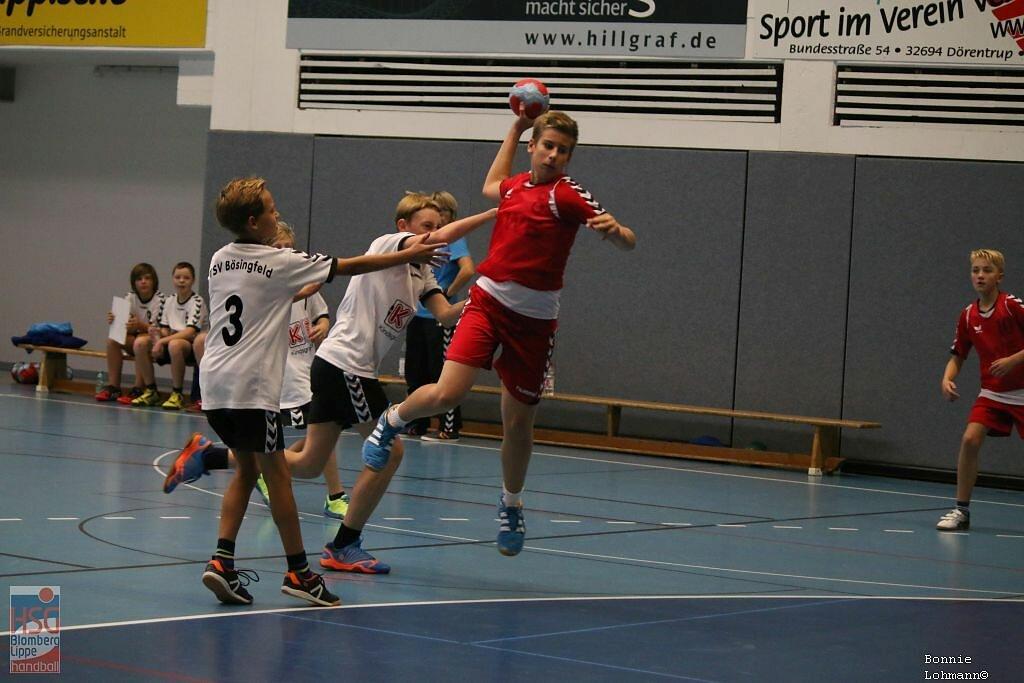 mD  HSG Blomberg-Lippe  -  TSV Bösingfeld