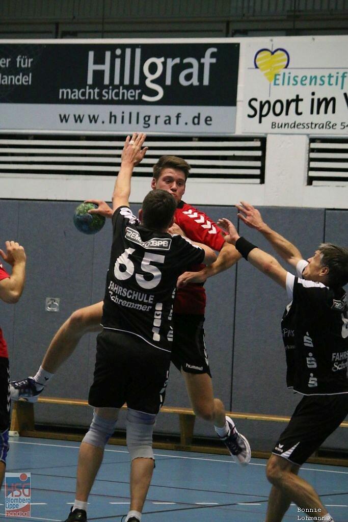 m1  HSG Blomberg-Lippe  -  HSG Handball Lemgo 4