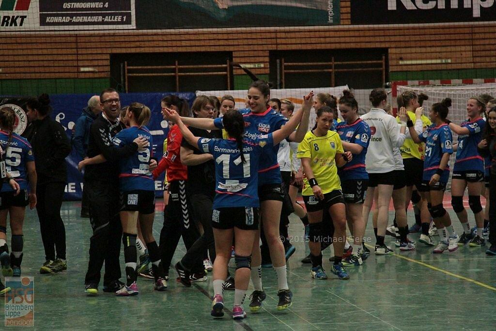 1. Bundesliga  Buxtehuder SV  -  HSG Blomberg-Lippe