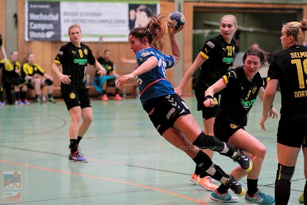 1. Bundesliga  BVB Dortmund Handball  -  HSG Blomberg-Lippe