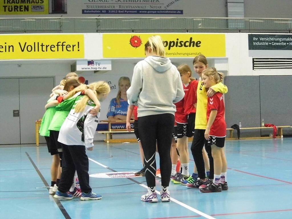 wE1 HSG Blomberg-Lippe - TSV Hillentrup