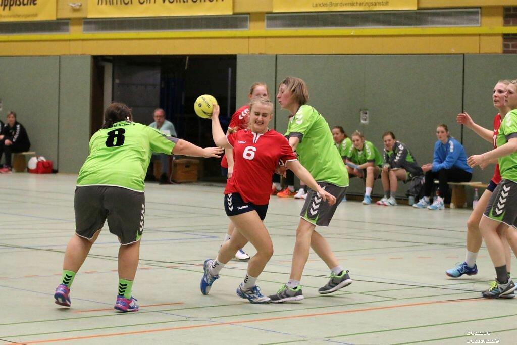 3. Frauen  HSG Blomberg-Lippe 3  -  TV Horn-Bad Meinberg