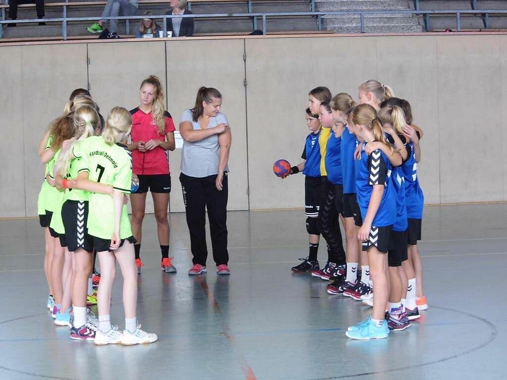 SG Handball Detmold 1 - wD2 HSG Blomberg-Lippe