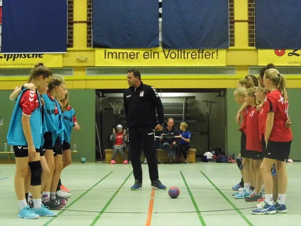 wD1 HSG Blomberg-Lippe - Handball Lemgo 1