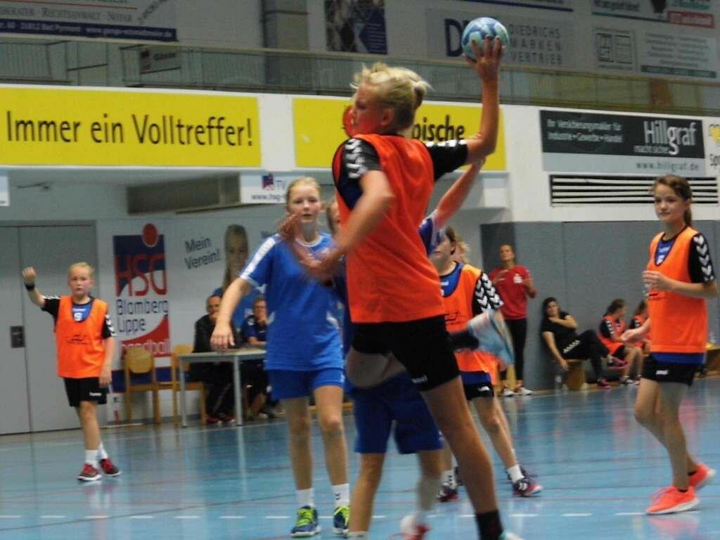 wD2 HSG Blomberg-Lippe - Handball Lemgo 2