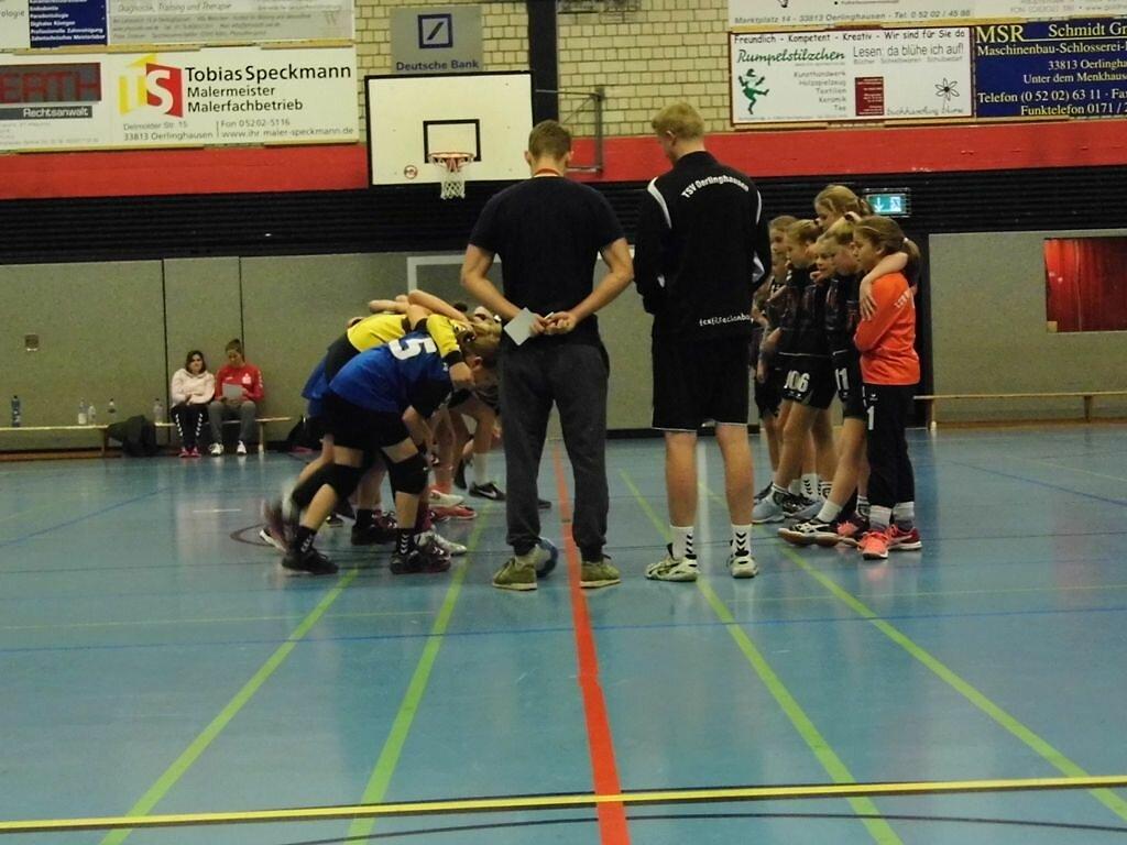 TSV Oerlinghausen - wD2 HSG Blomberg-Lippe