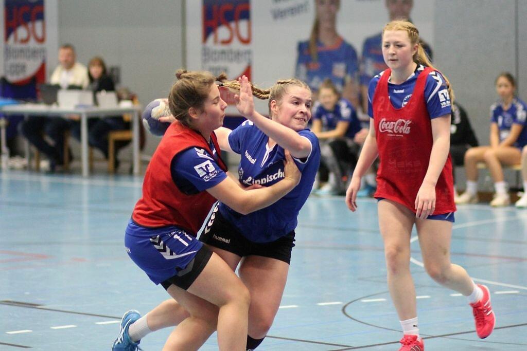 wA2 HSG Blomberg-Lippe - JSG Handball Ibbenbüren