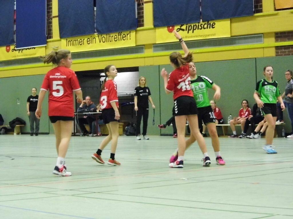 Pokalviertelfinale wD1 -TuS Müssen/Billinghausen