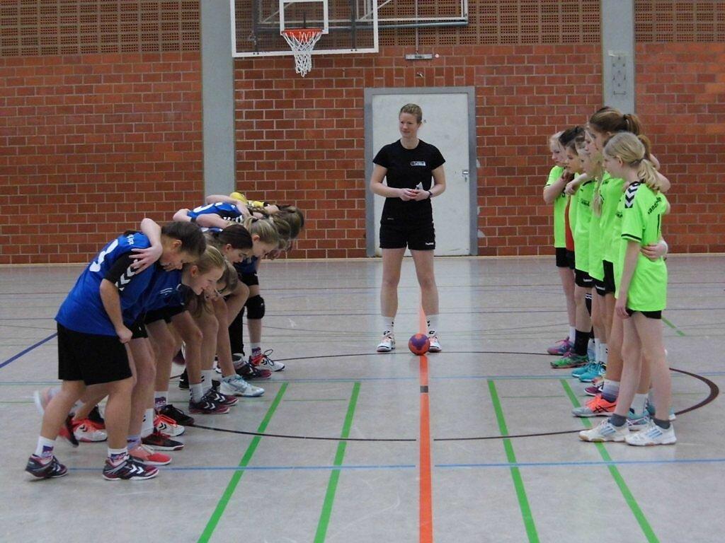 Pokalviertelfinale wD2 - SG Handball Detmold 1