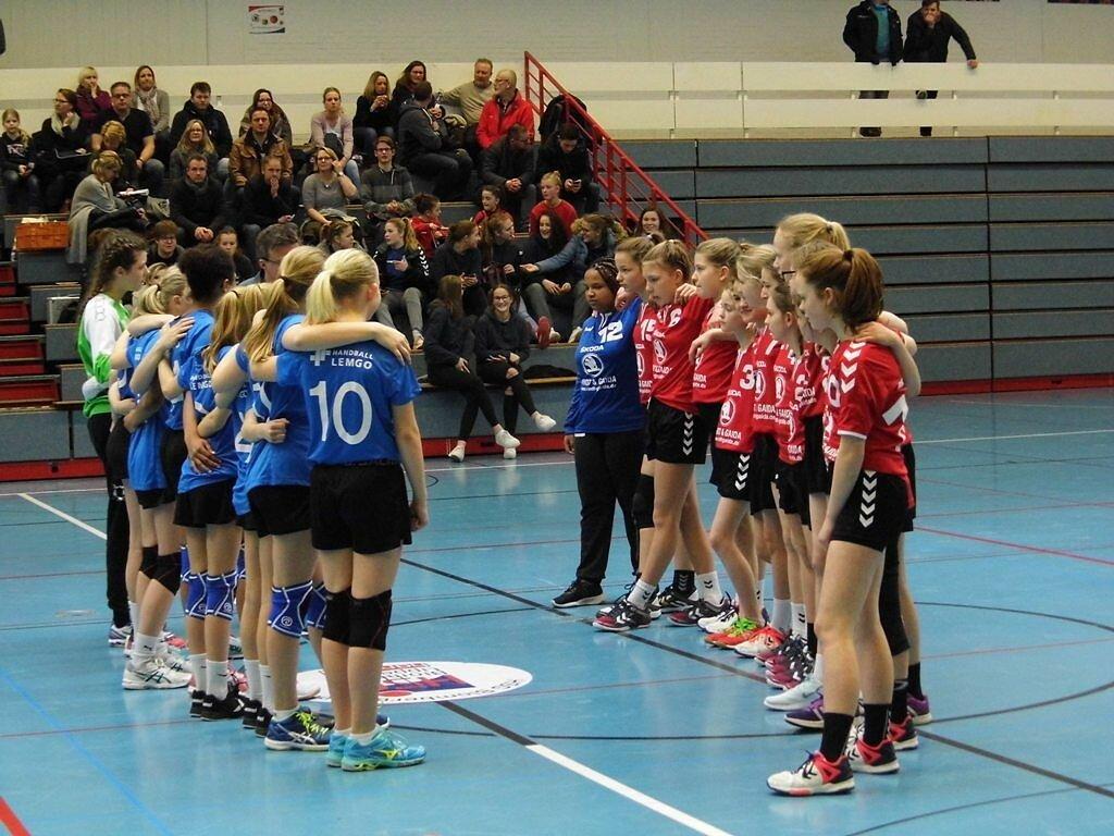 wD1 HSG Blomberg-lippe - HSG Handball Lemgo 1