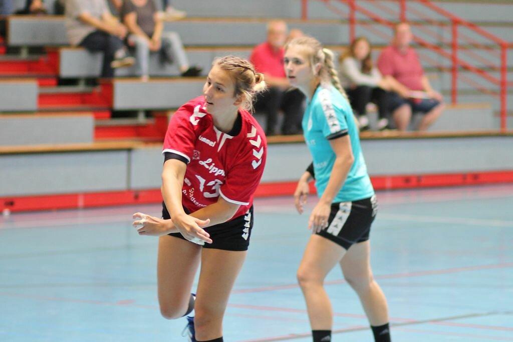 w2 Vorbereitungsturnier HSG Blomberg-Lippe - Eintracht Hildesheim - HSV Minden-Nord