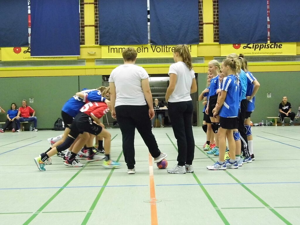 wD1 HSG Blomberg-Lippe - Handball Lemgo