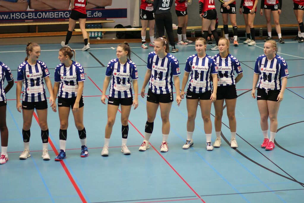 wA1 HSG Blomberg-Lippe - SV Union Halle Neustadt