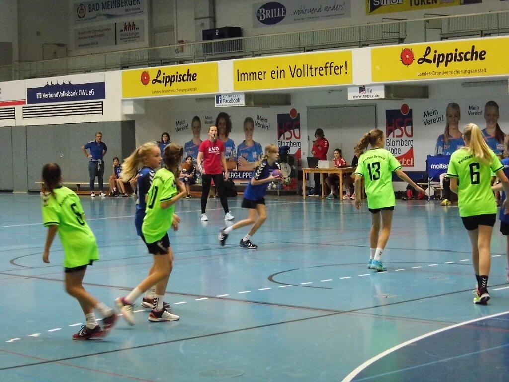 wD2 HSG Blomberg-Lippe - Handball Detmold