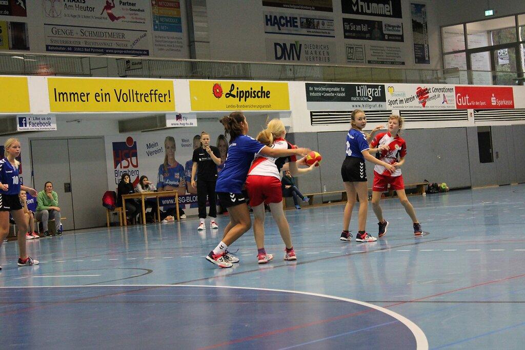 wD3 HSG Blomberg-Lippe - TSV Hillentrup