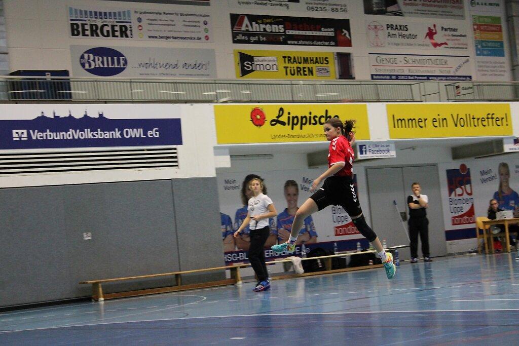 wD1 HSG Blomberg-Lippe - VfL Schlangen