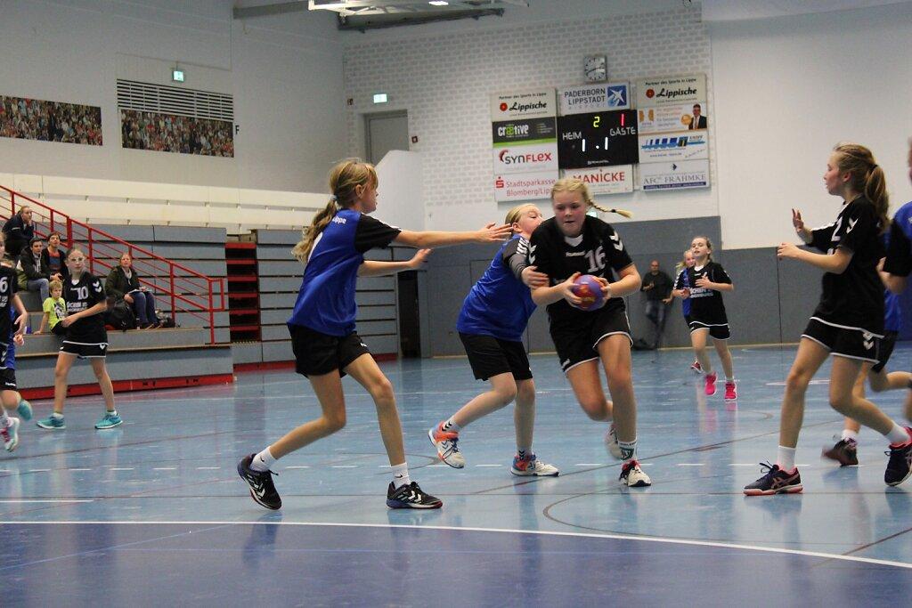 wD2 HSG Blomberg-Lippe - TSV Oerlinghausen