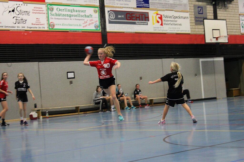 Pokalviertelfinale TSV Oerlinghausen - wD1 HSG Blomberg-Lippe
