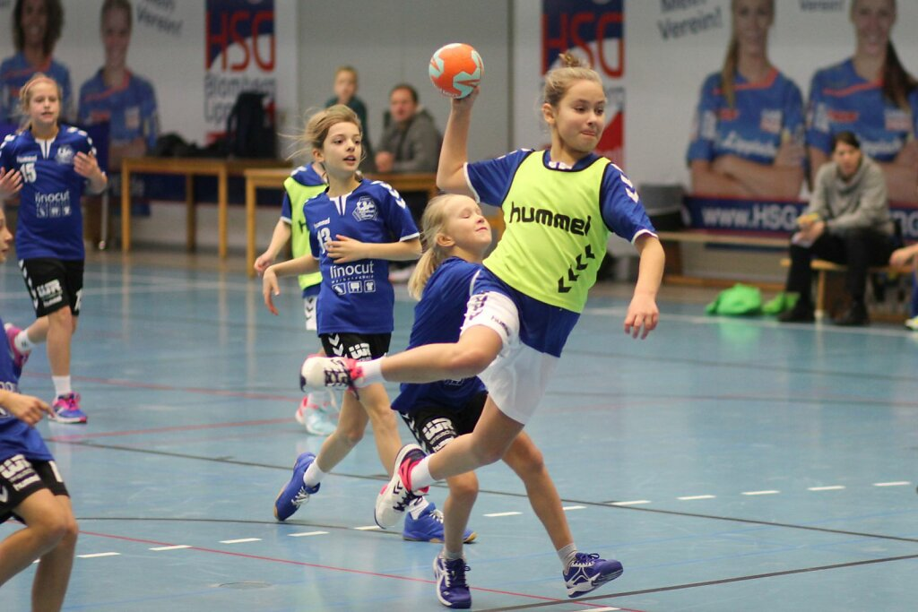 wE1 HSG Blomberg-Lippe - Handball Bad Salzuflen