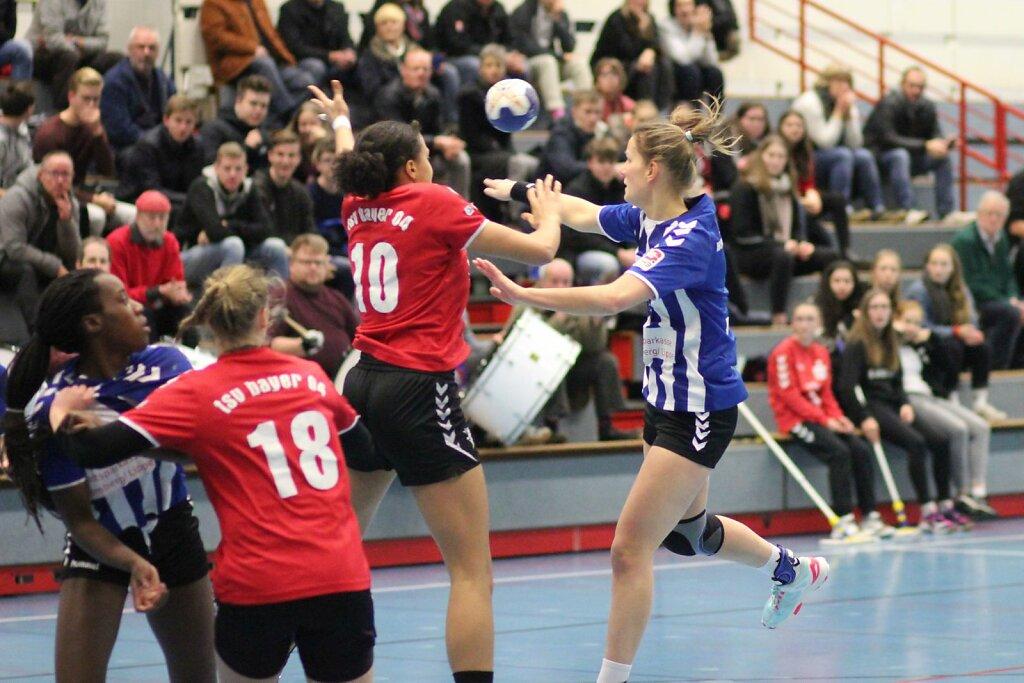 w2 HSG Blomberg-Lippe - Bayer Leverkusen II