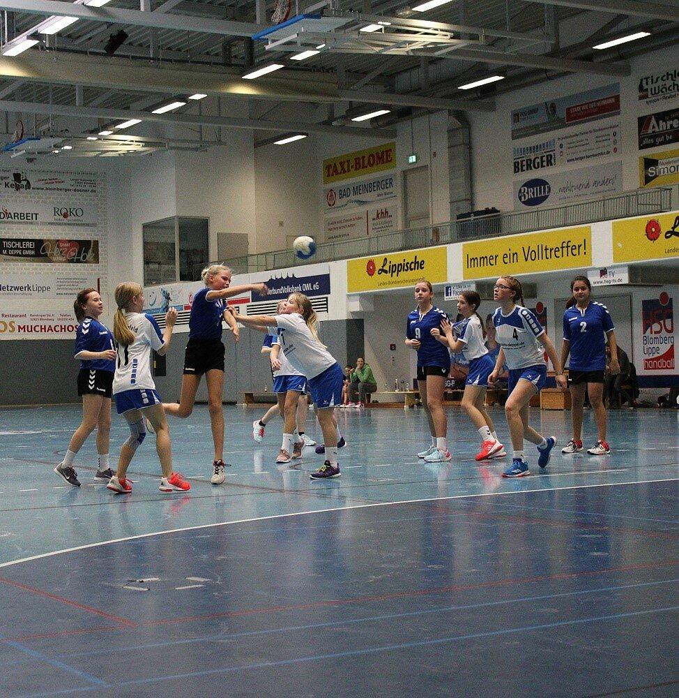 wD3 HSG Blomberg-Lippe - TSV Bösingfeld