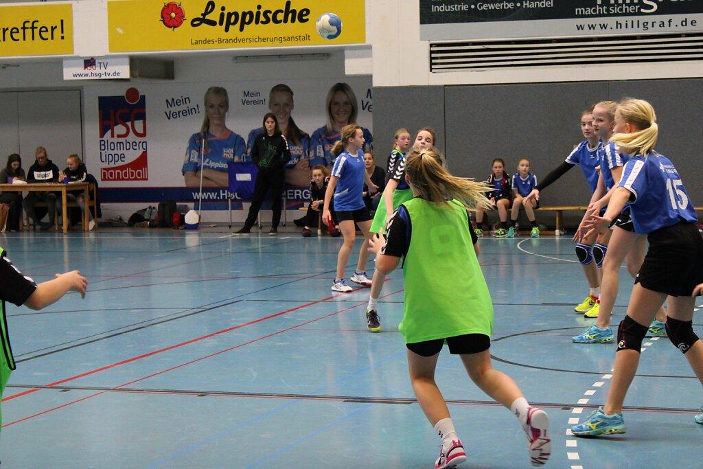 wD2 HSG Blomberg-Lippe - Handball Lemgo