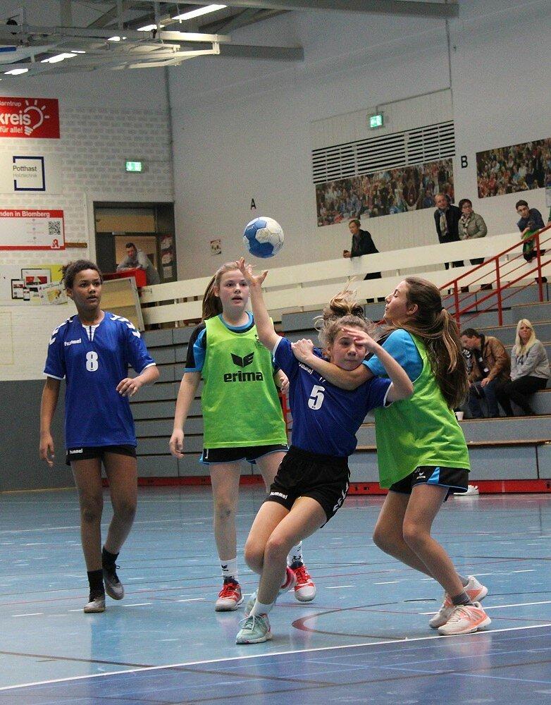 wD3 HSG Blomberg-Lippe - Handball Bad Salzuflen