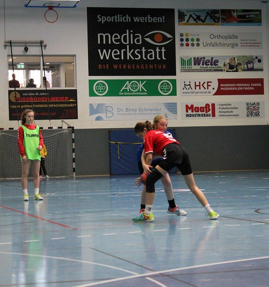 wD2 HSG Blomberg-Lippe - wD1 HSG Blomberg-Lippe