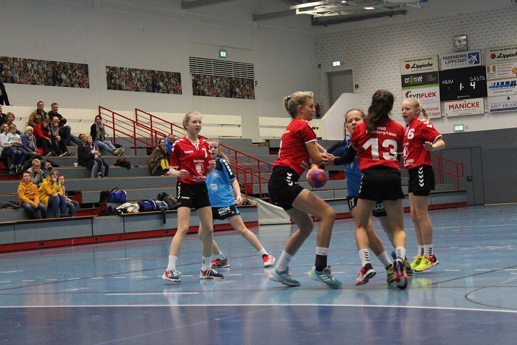 wD1 HSG Blomberg-Lippe - Handball Bad Salzuflen