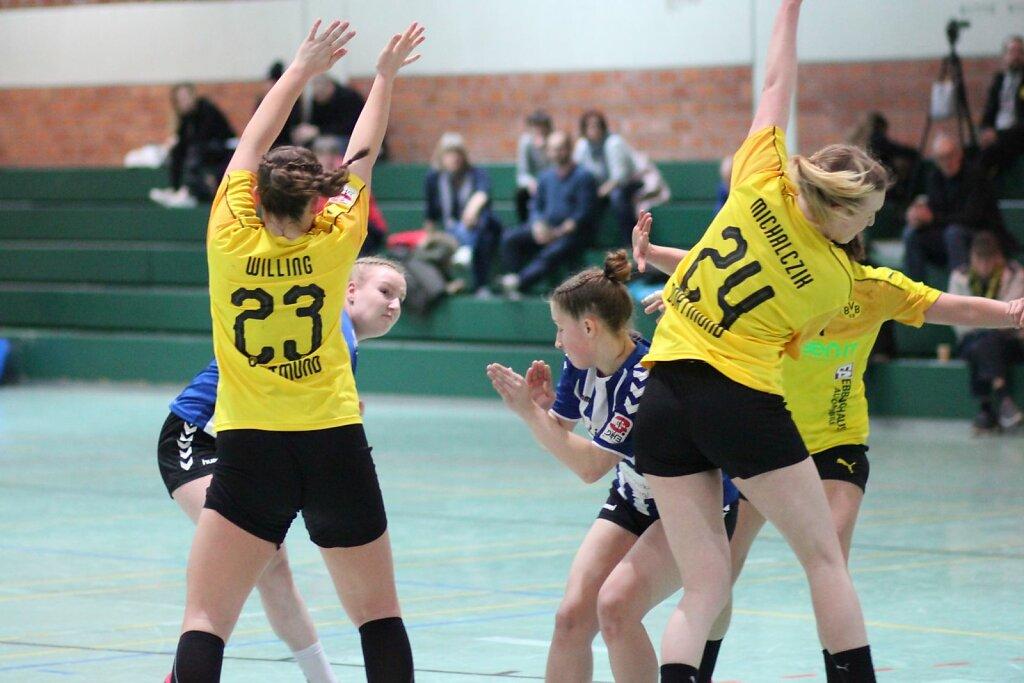 w2 Bv Borussia Dortmund - HSG Blomberg-Lippe