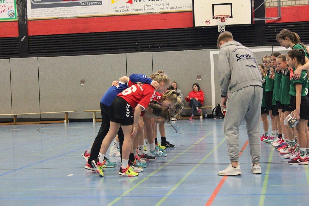TSV Oerlinghausen - wD1 HSG Blomberg-Lippe