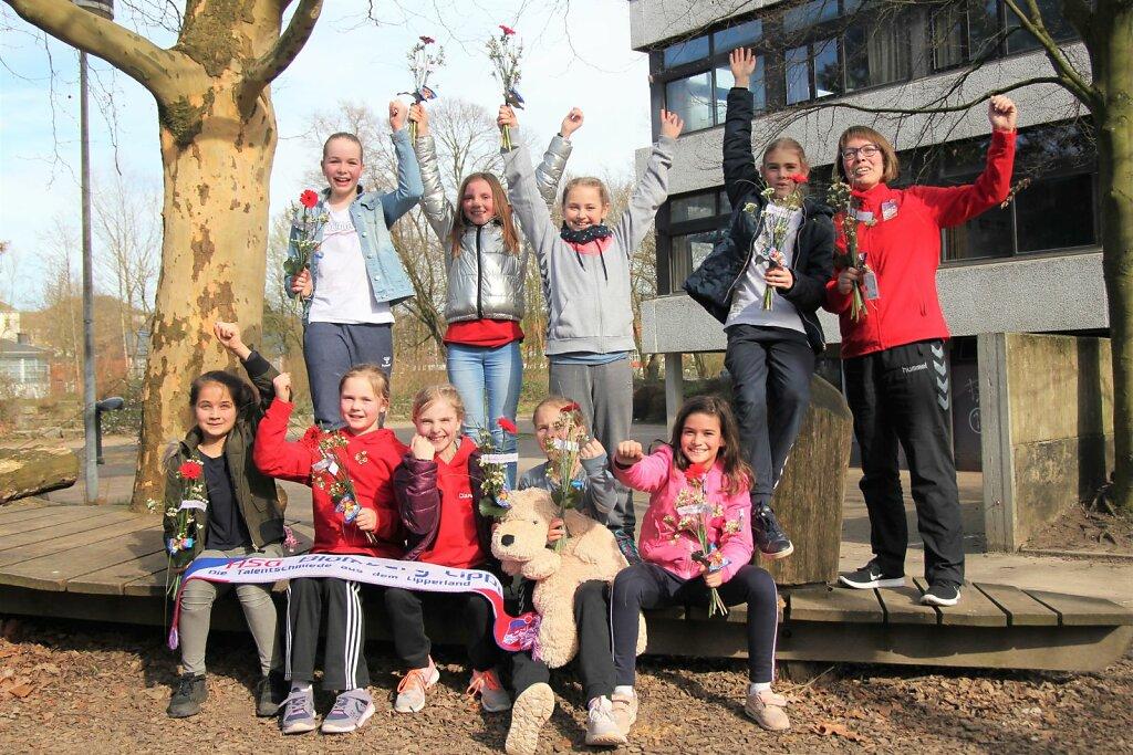 wE1 SG Handball Detmold - HSG Blomberg-Lippe