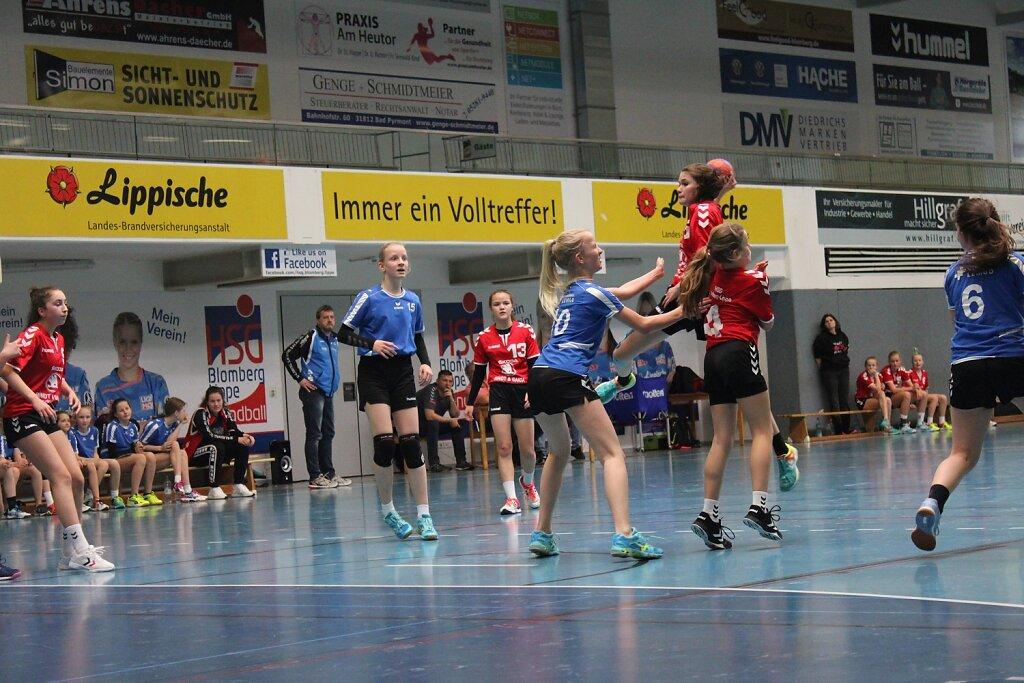Final 4 und Kreismeisterehrung wD1 HSG Blomberg-Lippe