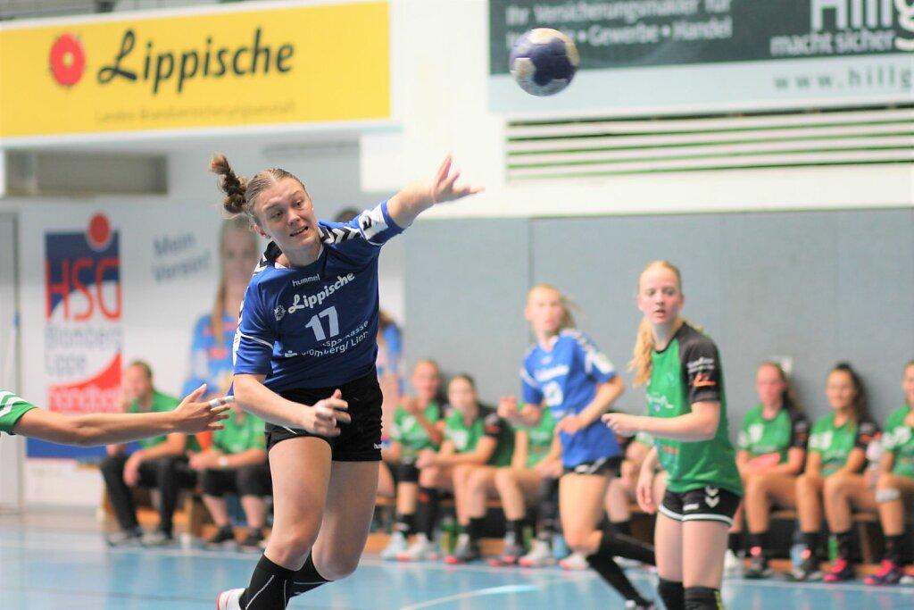 w2 HSG Blomberg-Lippe - Quintus Handbal (NL)