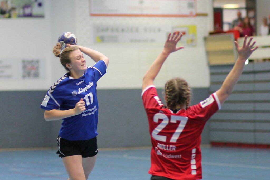 w2 HSG Blomberg-Lippe - HSG DJK Marpingen-SC Alsweiler